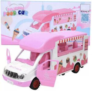 KIDS Food Car Play Set With Sound & Lights Auto Switch Kids Toy Ice Cream Van