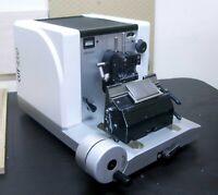 microTec CUT 4060 rotary microtome 2020A Low Profile I Mikrotom Leitz Leica Jung