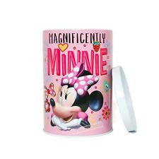 Disney Minnie Mouse Coin Bank - Tin Collectible Coin Bank Magnificently Minnie