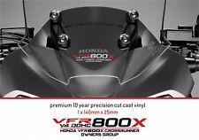 VFR 800X V4 DOHC Decals Stickers HONDA CROSSRUNNER OWNERS GROUP