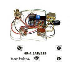 Bartolini HR-4.5AP Pre-Wired 2 Band EQ Active/Passive Preamp