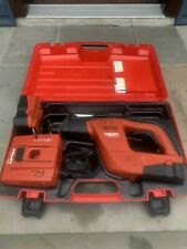 Hilti Wsr 650 A 24v Cordless Saw Withhilti Case 2 Batteries And Charger