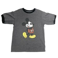 Disney Parks Mickey Mouse Sz Adult Small Grey T-shirt