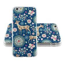 """COQUE CASE IPHONE 6 6S (4""""7) PARADISE BLUE DEER SILICONE RIGIDE (PU)"""
