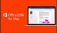 Microsoft Office 2016 pour Mac - 3 utilisateurs Mac-Télécharger