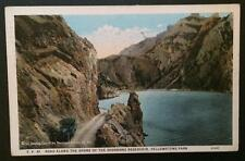 Road Along the Shore, Yellowstone Park 1934 Bloom Bros Co. 41