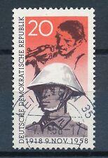 Gestempelte Briefmarken der DDR (1949-1990) mit Arbeitswelt-Branchen-Motiv