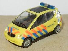 rare MICRO HERPA HO 1/87 MERCEDES-BENZ A-KLASSE ambulance emergency 112