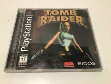 Playstation Tomb Raider - Black label
