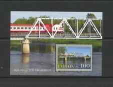 Latvia 2007 SG MS 707 Railway Bridge  MNH