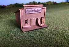 N Scale Laser Cut Old West Undertaker Building Kit