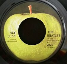 Beatles    Apple 2276     HEY JUDE   (GREAT ROCK N ROLL 45) PLAYS STRONG VG+