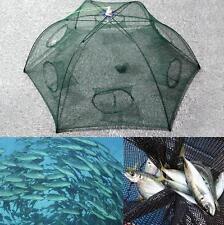 HOT!! US Foldable Crab Net Trap Cast Dip Cage Fishing Bait Fish Minnow Crawfish
