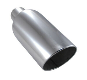 """Ford Powerstroke Super Duty Diesel Truck 4"""" In 8"""" Out 18"""" Long Exhaust Tip"""
