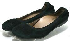 b4196640f1e3a ABEO Tia Neutral  120 Women s Ballet Flats Shoes Size 6.5 Suede Leather  Black