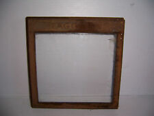 Vintage Taggart Advertising Store Counter Display Bin Glass Door