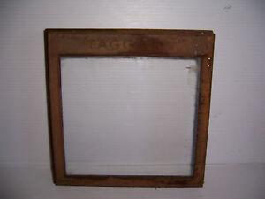 Vintage Taggart Advertising Store Counter Display Bin Glass Door