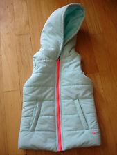 Girls Vest 90 Degrees Size 7/8 Jacket Hooded Blue Pink Full Zipper Pockets 7 8