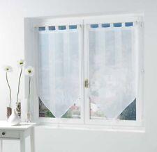 Douceur D'intérieur Paire Pompon voile Sable Salina Polyester Blanc 2 x 60 ...