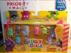 Hasbro 9 Piece Ugly Dolls Super Soft and Fuzzy Mini Figures NEW FREE PRIORITY