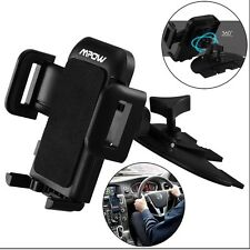 Mpow Grip Pro 2 USB Car Mount Holder Charger Cradle with CD Slot For Cellphones
