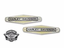 FREE SHIP Harley Davidson Replica Gas Tank Emblems & Mount Stripes set 1966-71