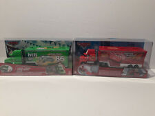 Disney Pixar Cars - Hauler set of 2- Chick Hicks Hauler and Mack Hauler
