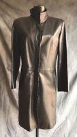 Vintage Ladies Stunning Soft Leather Jacket/Coat Norris Raymond London Size 12