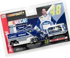 Autoworld Racing Rigs R11 Jimmie Johnson Nascar Truck Transporter SC317 Slot Car