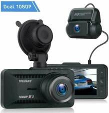 TOGUARD CE63 Dual Dash Camera for Cars - Black