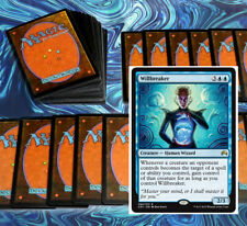 mtg BLUE WHITE AZORIUS DECK Magic the Gathering rare 60 cards willbreaker jareth