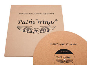 PatheWings Cork Turntable Record Mat Vinyl LP Audiophile MADE IN GERMANY 3mm !!!