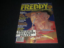 FREDDY A Nightmare On Elm Street 5 Official Movie Magazine 1989 4 POSTERS