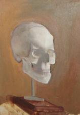 Still life with skull oil painting