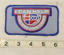 Vintage Car Quest Auto Parts Stores Patch Lot of 4 How Can I Help Counter Pro