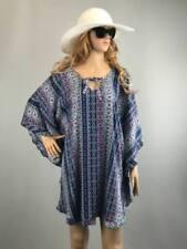V-Neck Kimono Sleeve Tops for Women