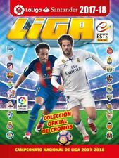 "ALBUM ED. ESTE-PANINI. ""LIGA 2017-18"" -@- COMPLETE COLLECTION (S-ESP-567-1)"