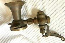 Vtg Doran-Cunningham Brass Air Whistle Boat Firetruck 1A-14914 + working valve