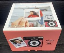 Fujifilm instax SQUARE SQ6 Instant Film Camera, Ruby Red NEW SEALED