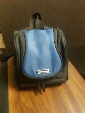 Nintendo DS Gameboy Mini Backpack Travel Carrying Case Bag BLUE BLACK  J4