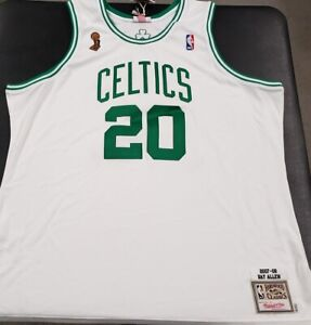 BRAND NEW MITCHELL&NESS NBA BOSTON CELTICS RAY ALLEN 2007-08 AUTHENTIC JERSEY