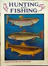 Vintage Hunting & Fishing Magazine May 1933 Great Cover Sporting Jem162