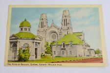 1950 Ste. St. Anne de Beaupre, Quebec Canada Postcard