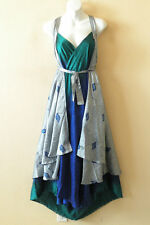 "E461 Vintage Silk Magic 36"" Sarong Pareo Wrap Skirt Tube Dress + Bonus DVD"