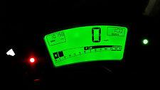 Reloj de LED Verde Kawasaki ER6F Kit lightenupgrade
