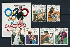 Laos #959-65 MNH, Barcelona Olympic Games 1992