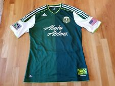 Portland Timbers Alaska Airlines Adidas Climacool MLS Soccer Jersey Large 00