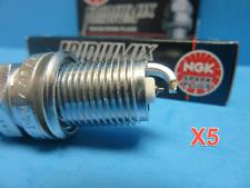 Set 5 Genuine NGK 6418 Spark Plugs OEM# BKR6EIX Iridium-IX Upgrade Made in Japan