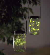 Solar Firefly Jar Decorative Outdoor Light
