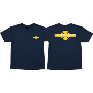 Independent Truck Co. O.G.B.C. Streak SS Youth / Kids T-Shirt Navy Med